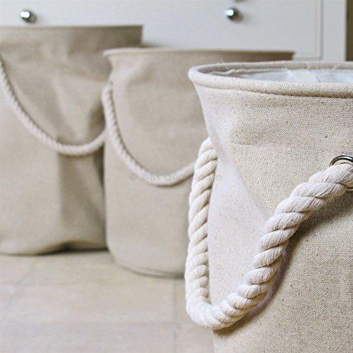 Linen Laundry Bin Small Medium and