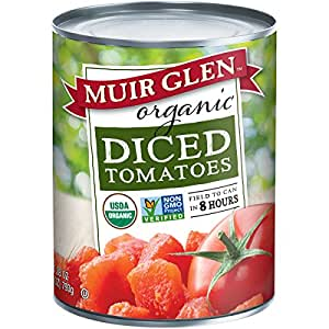 Muir Glen Organic Diced Tomatoes, 28-Ounce Cans (Pack of 12)