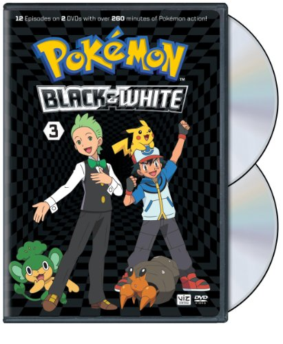 Pokémon Black & White Set 3 (Black And White Tv Set)