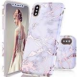 iPhone X Case,DOUJIAZ Shiny Rose Gold Metallic White - Best Reviews Guide