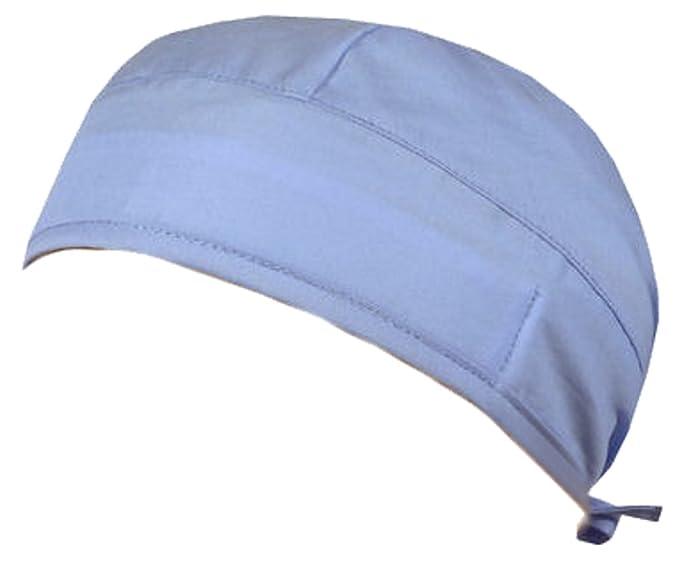 42f0776cae9 Medical Skull Cap - Sky Blue at Amazon Women s Clothing store