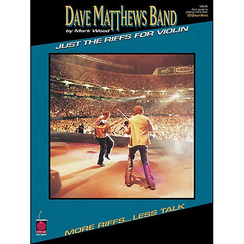 Dave Matthews Band Just The Riffs Violin Edition Pack of -