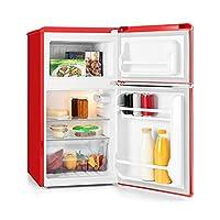 Klarstein • Monroe Red • Nevera con frigorífico • Consumo 70 W • Minibar • Capacidad
