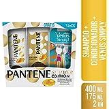 Kit Shampoo Pantene Summer, 400 ml + Condicionador, 175 ml + Vênus Simply x 2 Unidades