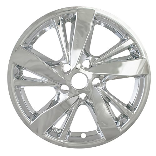 "Chrome 17"" Hub Cap Wheel Skins for Nissan Altima - Set of 4"