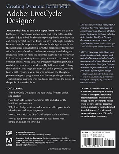 Adobe Livecycle Designer Book
