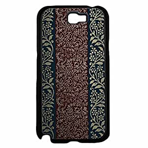 Dark Red and Blue Paisley Hard SILICONE Phone Case Back For Case HTC One M7 Cover