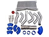 CXRacing Intercooler Piping BOV Kit For 86-92 Supra MK3 LS1 Swap Twin Turbo