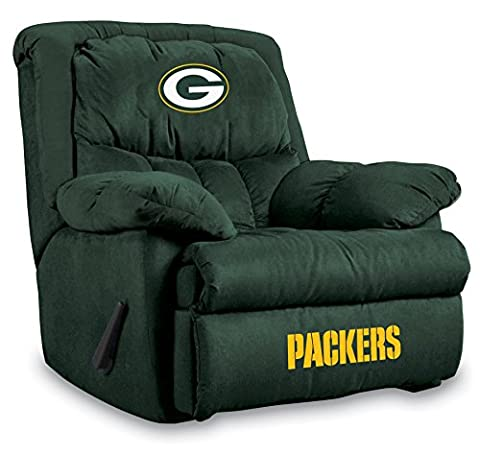 Imperial Officially Licensed NFL Furniture: Home Team Microfiber Rocker Recliner, Green Bay Packers (Packers Rocking Chair)