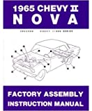 1965 Chevrolet Chevy ll Nova Assembly Manual Book Rebuild Instructions Drawings