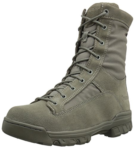 Weather Military Boots - Bates Men's Range II Hot Weather Military and Tactical Boot, Sage, 7 M US