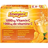 Emergen-C Tangerine (30 Count), 1000mg Vitamin C / Electrolytes / B Vitamins Mineral Supplement