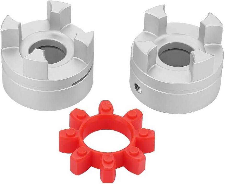 Acoplamiento flexible del eje de la ara/ña conector del acoplador del motor paso a paso de OD55mm x L66mm 22x22mm