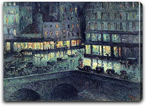 la-samaritaine-night-by-maximilien-luce-21-x-26-extra-thick-25-gallery-wrapped-canvas-art-print-read