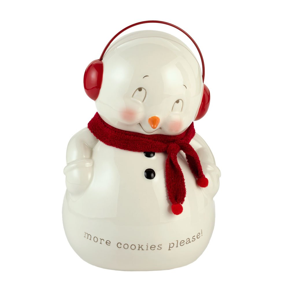 Snowpinions from Department 56 Snowman Cookie Jar 4020009