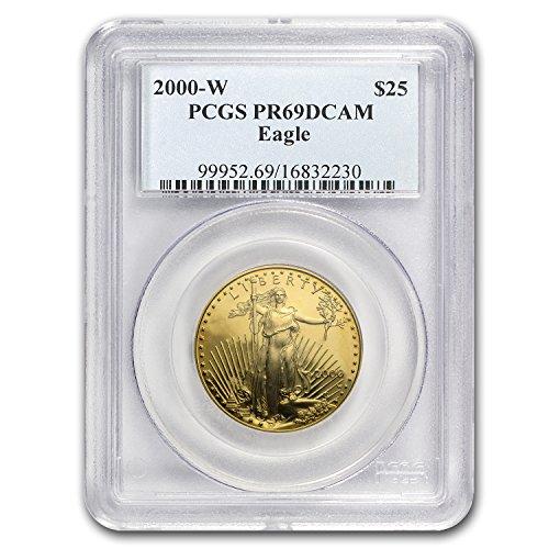 2000 W 1/2 oz Proof Gold American Eagle PR-69 PCGS 1/2 OZ PR-69 PCGS