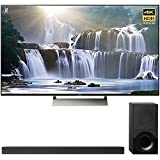 Sony 55-inch 4K HDR Ultra HD Smart LED TV 2017 Model (XBR-55X930E) with Sony 2.1ch Soundbar with Dolby Atmos