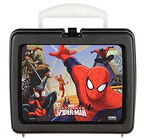 Spiderman Lunch Box Plastic