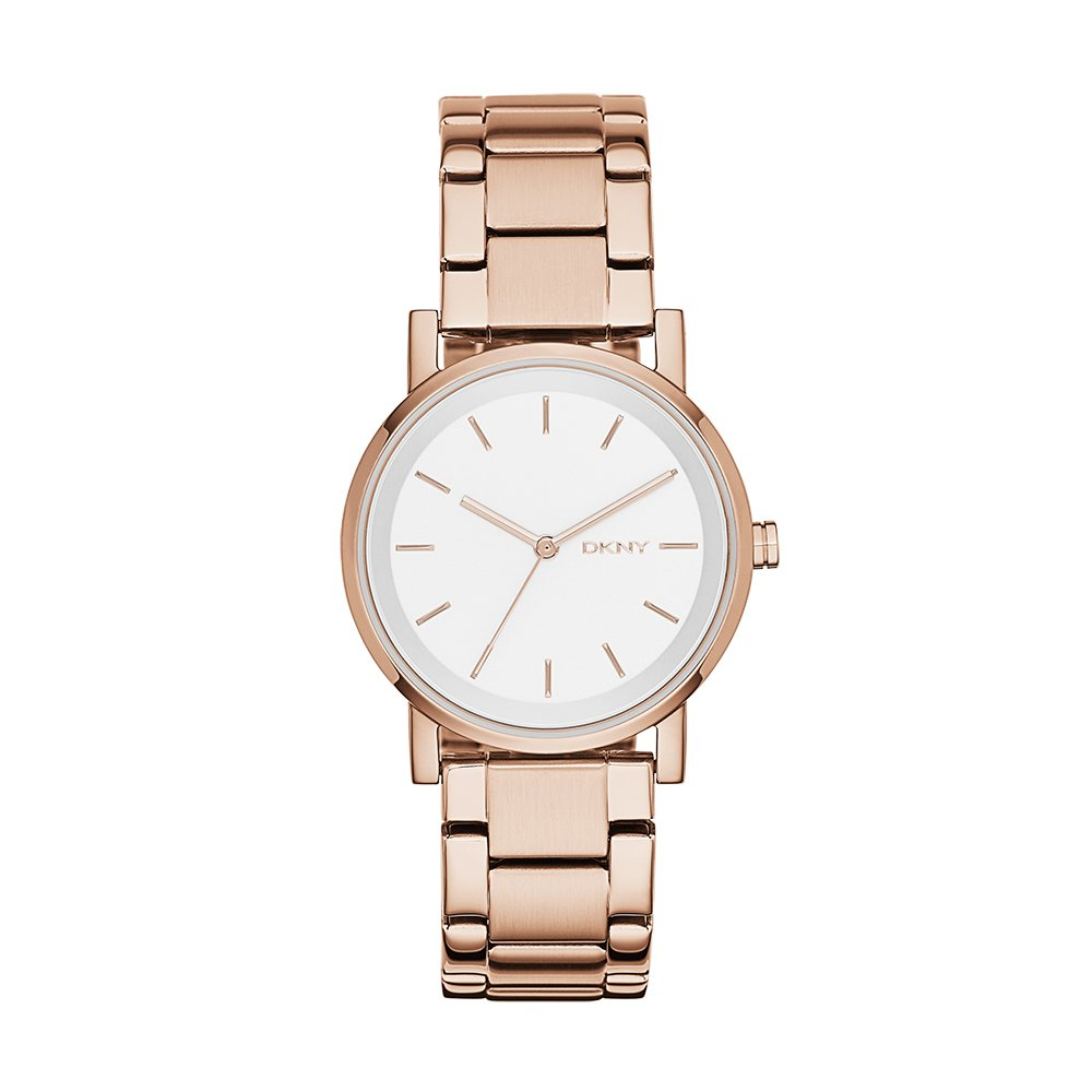 Amazon.com: DKNY Womens NY2344 SOHO Rose Gold-Tone Stainless Steel Watch: Watches