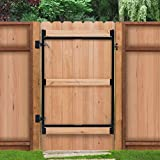 Fence Walk Through Gate Kit - Adjust-A-Gate Steel Frame No Sag Gate Building Kit - This anti-sag gate kit is perfect for repairing existing sagging gates or building new ones. (36&