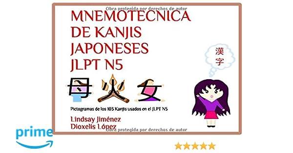 MNEMOTECNICA DE KANJIS JAPONESES JLPT N5: Pictogramas de los ...