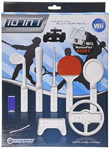 One Soft Sports Kit - Wii 10 in 1 Soft Sports Kit by Hyperkin