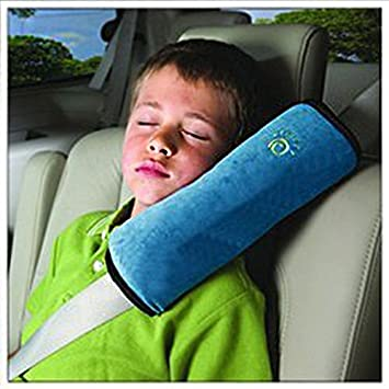 hot car neck pillow for kids soft version seatbelt covers
