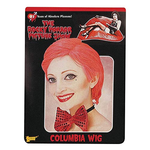 Forum The Rocky Horror Picture Show Columbia Wig, Red, One Size