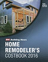 2016 Bni Home Remodelers Costbook (Home Remodler's Costbook)