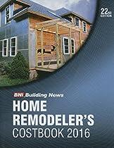 2016 Bni Home Remodelers Costbook