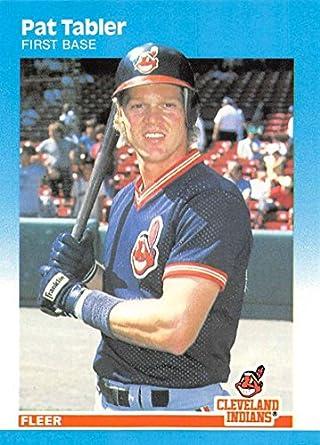 Amazon com: 1987 Fleer Glossy #261 Pat Tabler Cleveland Indians