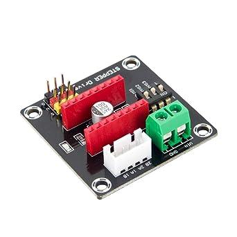 Jolicobo Placa de expansión DRV8825 / A4988 UNO R3 de la ...