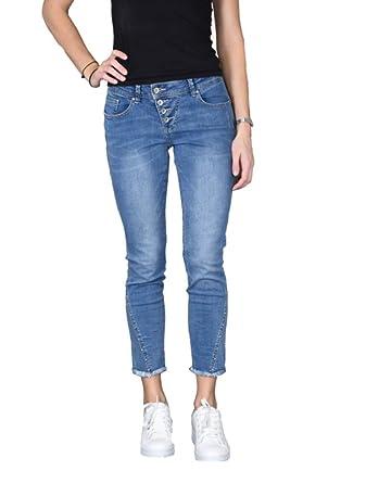 Buena Vista Damen Jeans Malibu 78 Stretch Denim