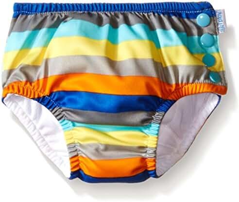 i play. Baby Boys' Snap Reusable Absorbent Swim Diaper
