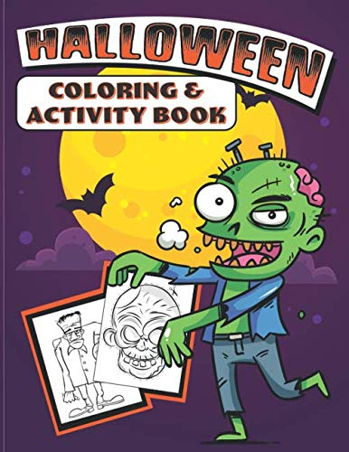 Halloween Coloring & Activity Book ()
