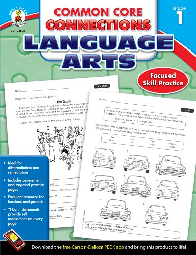 Common Core Connections Language Arts, Grade 1 ()
