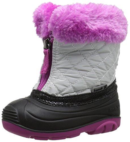 Kamik Fluffball Snow Boot , White, 9 M US Toddler