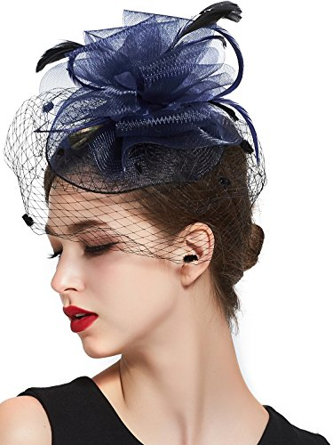 Zking Fascinators Wedding Flower Headband product image