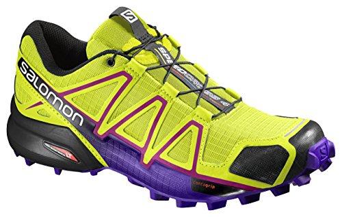 Salomon L39185900, Zapatillas de Trail Running para Mujer Verde (Gecko Green /             Spectrum Blue /             Black)