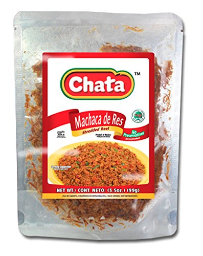 (Machaca de Res Chata Shredded Beef Jerky Carne Seca 3.5 oz)