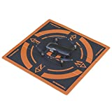 Foldable Compact 50X50CM Drone Landing Pad must have accessories Made for DJI Mavic 2 Zoom , Mavic 2 Pro, Mavic Air ,Mavic Pro , Mavic Platinum, Spark , DJI Tello , Parrot Anafi , Autel Evo Drones