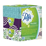 Puffs Plus Lotion Facial Tissues; 6 Family Boxes; 124 Tissues per Box, Health Care Stuffs