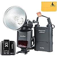 Godox Witstro AD360II-C TTL Powerful Speedlite Flash + PB960 Lithium Battery Black + X1C TTL Transmitter for Canon EOS Camera (AD360II-C Black+ X1C-T)