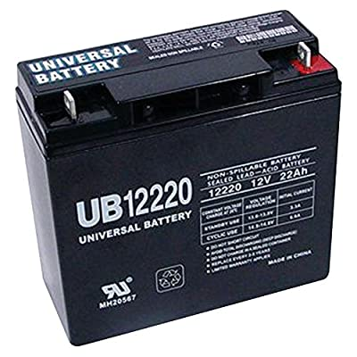 12V 22Ah Replacement Battery for Black & Decker ELECTROMATE 400 Jump Starter