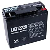 12V 22AH SLA Replacement Battery for XPower PowerSource 1800 Jump Starter