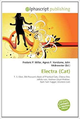 Electra Cat T S Eliot Old Possums Book Of Practical