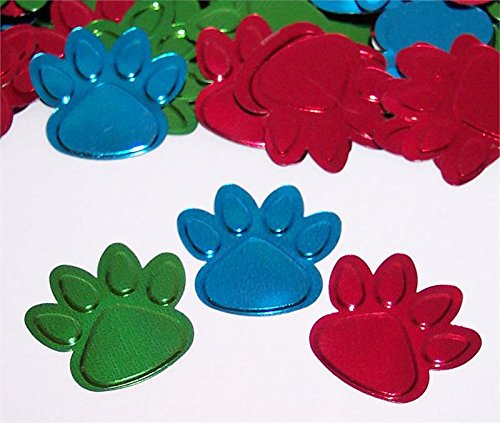 Creative Converting Paw-ty Time Printed (0.5 Ounce Printed Confetti)