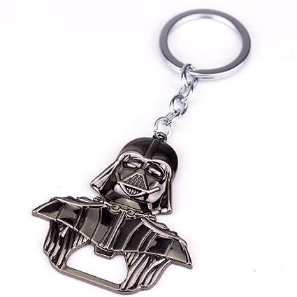 CLEARNICE Llavero Star Wars Darth Vader Aleación Botella De ...
