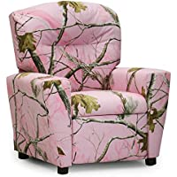 Kidz World Real Tree Camouflage Kids Recliner