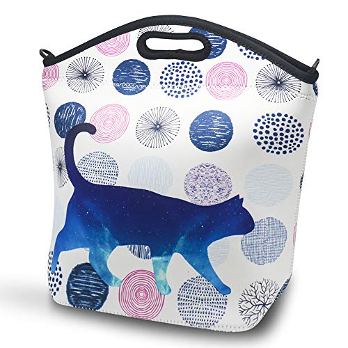 Large Neoprene Lunch Bag for Women Adults, Joyhill 14